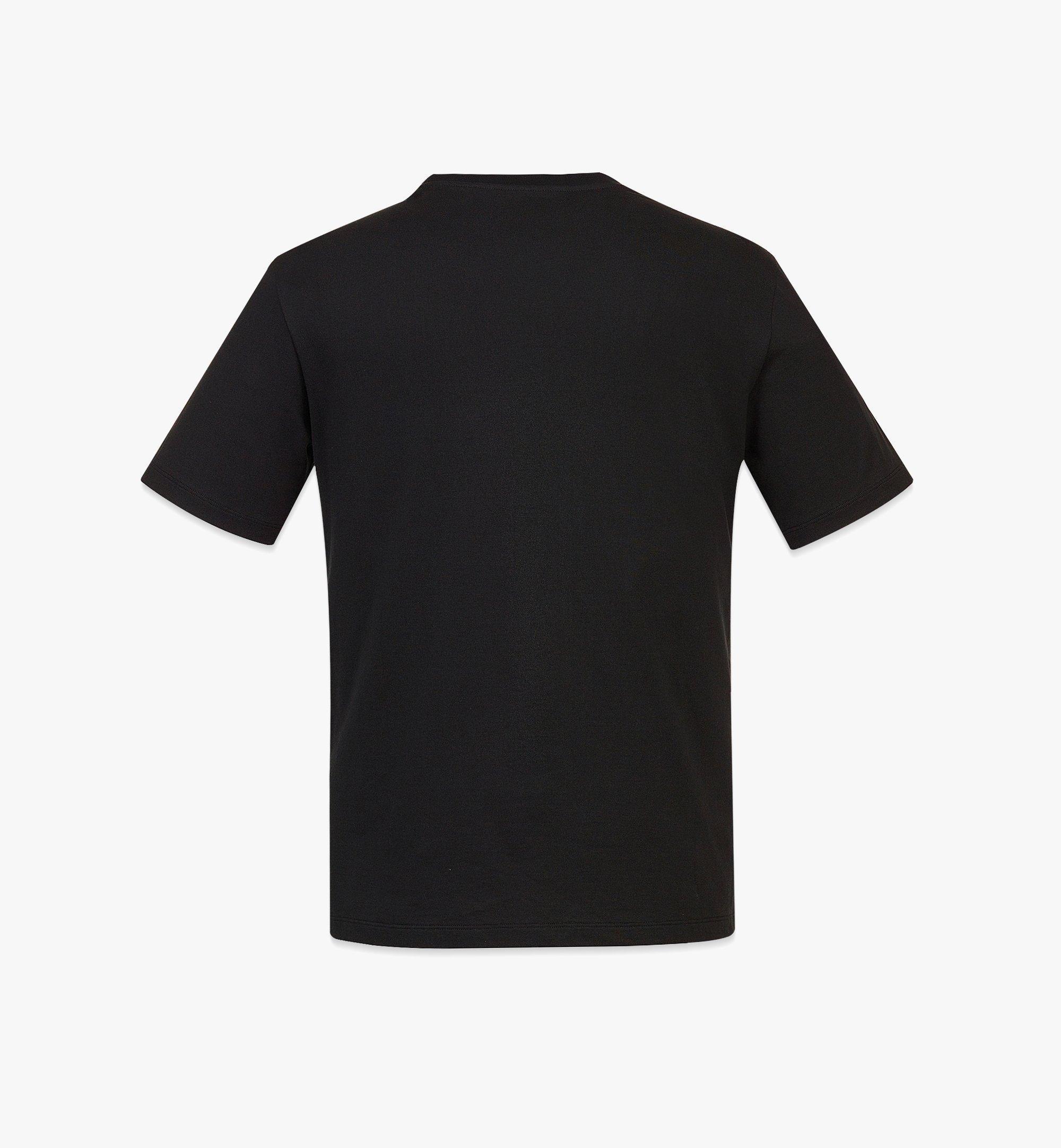 MCM Men's MCM Logo T-Shirt Black MHTBAMM01BK0XL Alternate View 1