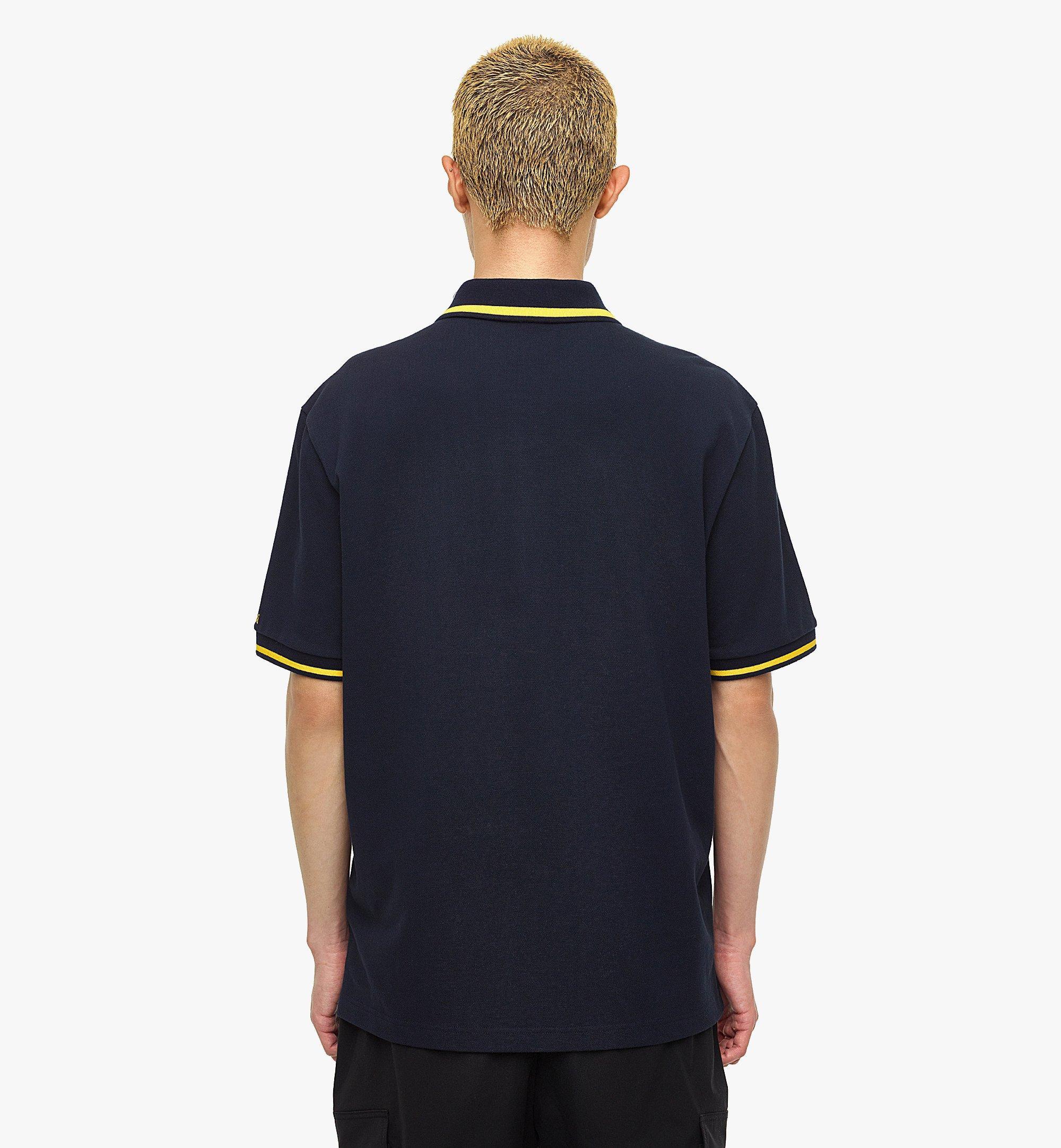 MCM MCM x SAMBYPEN Men's Polo Shirt Blue MHTBASP01VY00L Alternate View 3