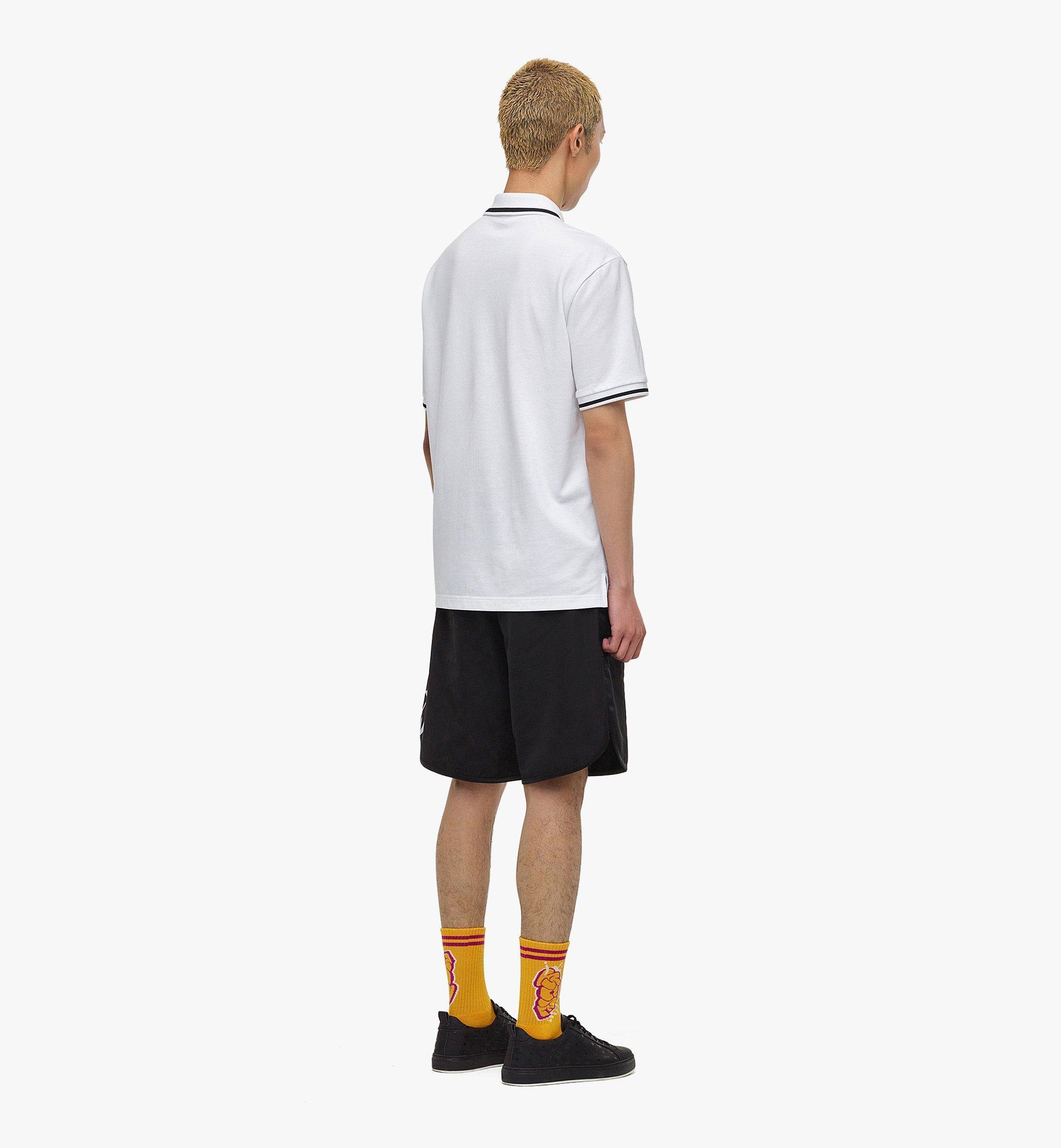 MCM เสื้อโปโล MCM x SAMBYPEN สำหรับผู้ชาย White MHTBASP01WT00L มุมมองอื่น 2