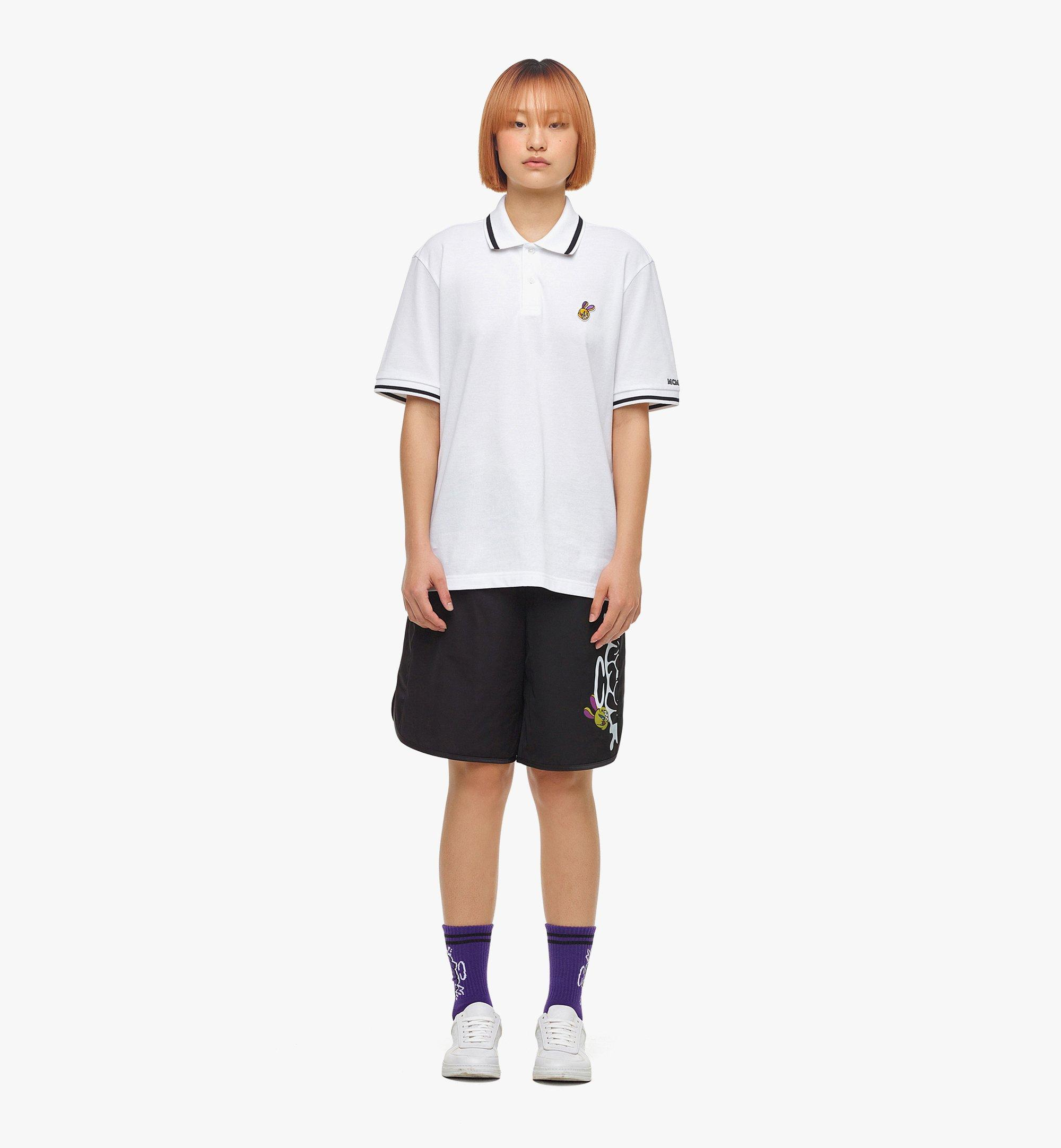 MCM เสื้อโปโล MCM x SAMBYPEN สำหรับผู้ชาย White MHTBASP01WT00L มุมมองอื่น 5