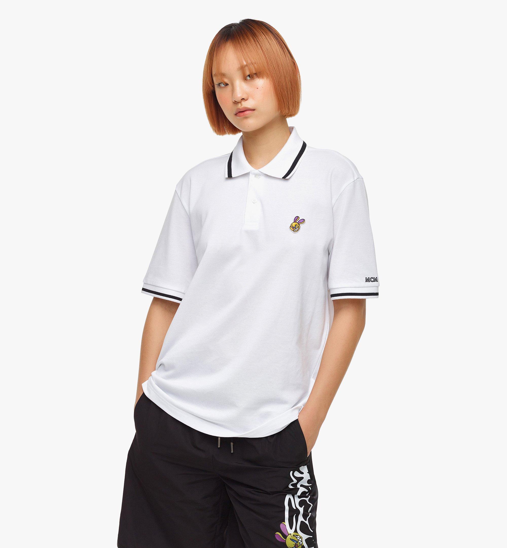MCM เสื้อโปโล MCM x SAMBYPEN สำหรับผู้ชาย White MHTBASP01WT00L มุมมองอื่น 7