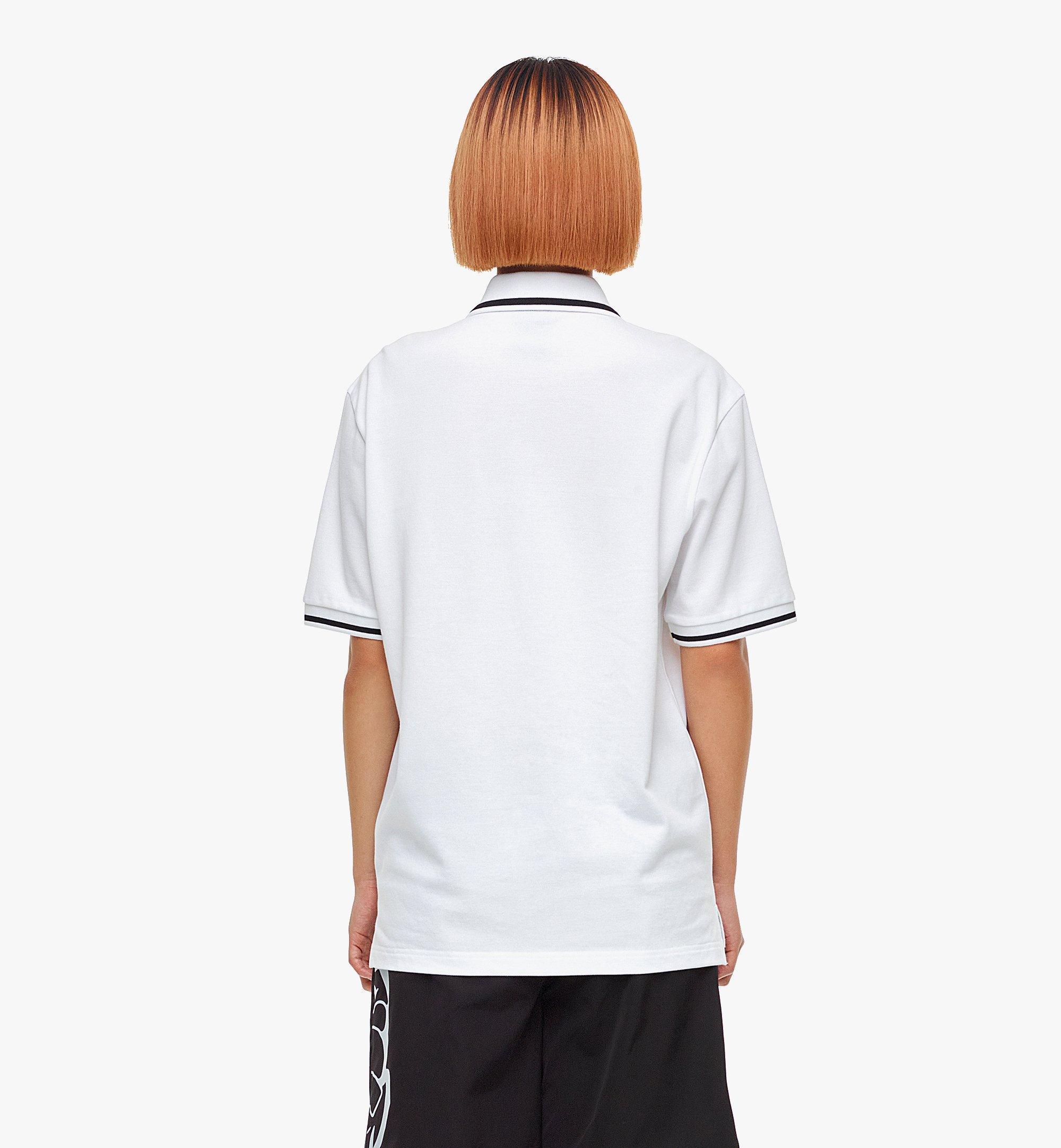 MCM เสื้อโปโล MCM x SAMBYPEN สำหรับผู้ชาย White MHTBASP01WT00L มุมมองอื่น 8