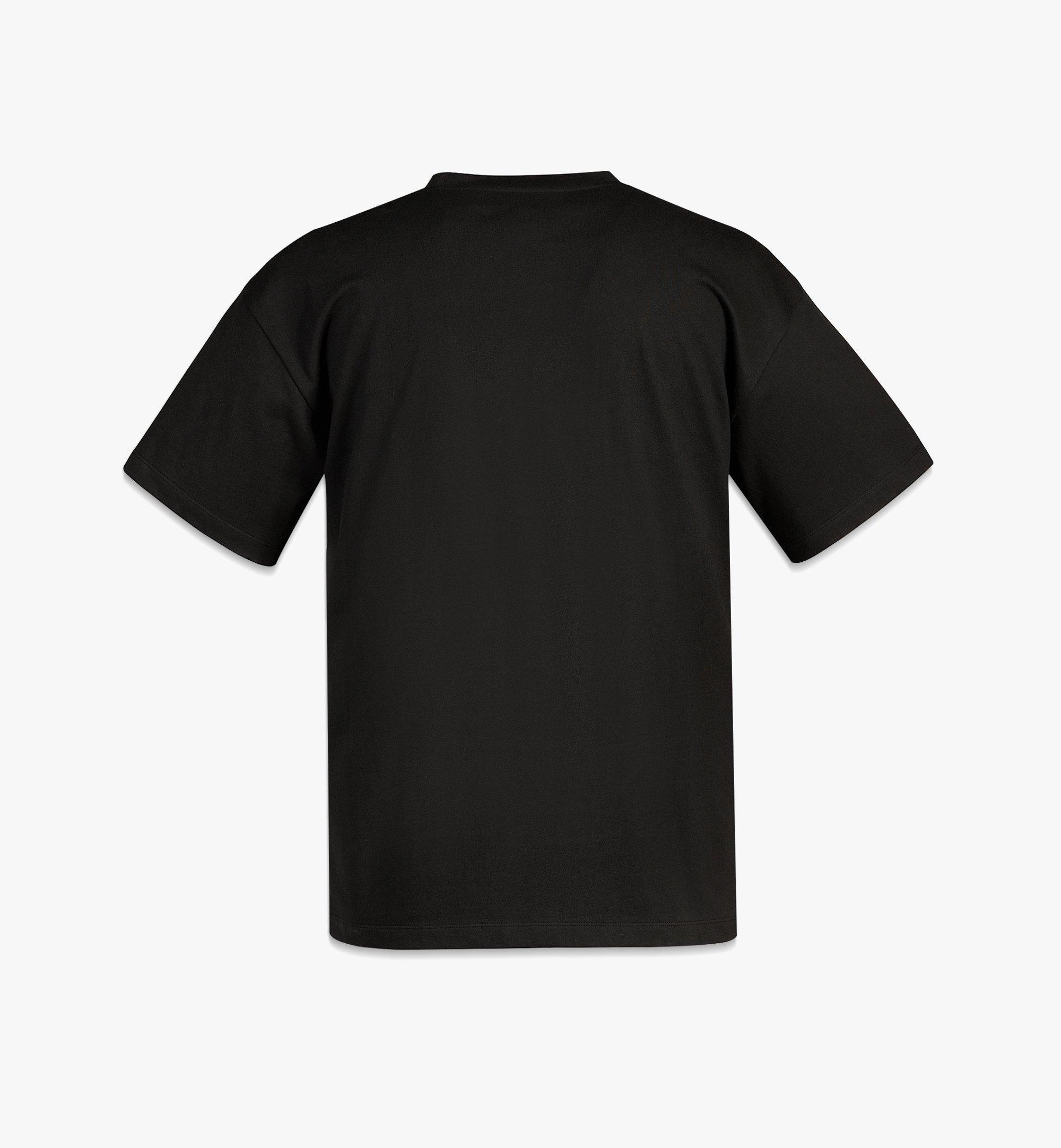 MCM MCM x SAMBYPEN Logo Print T-Shirt Black MHTBASP02BK00L Alternate View 1