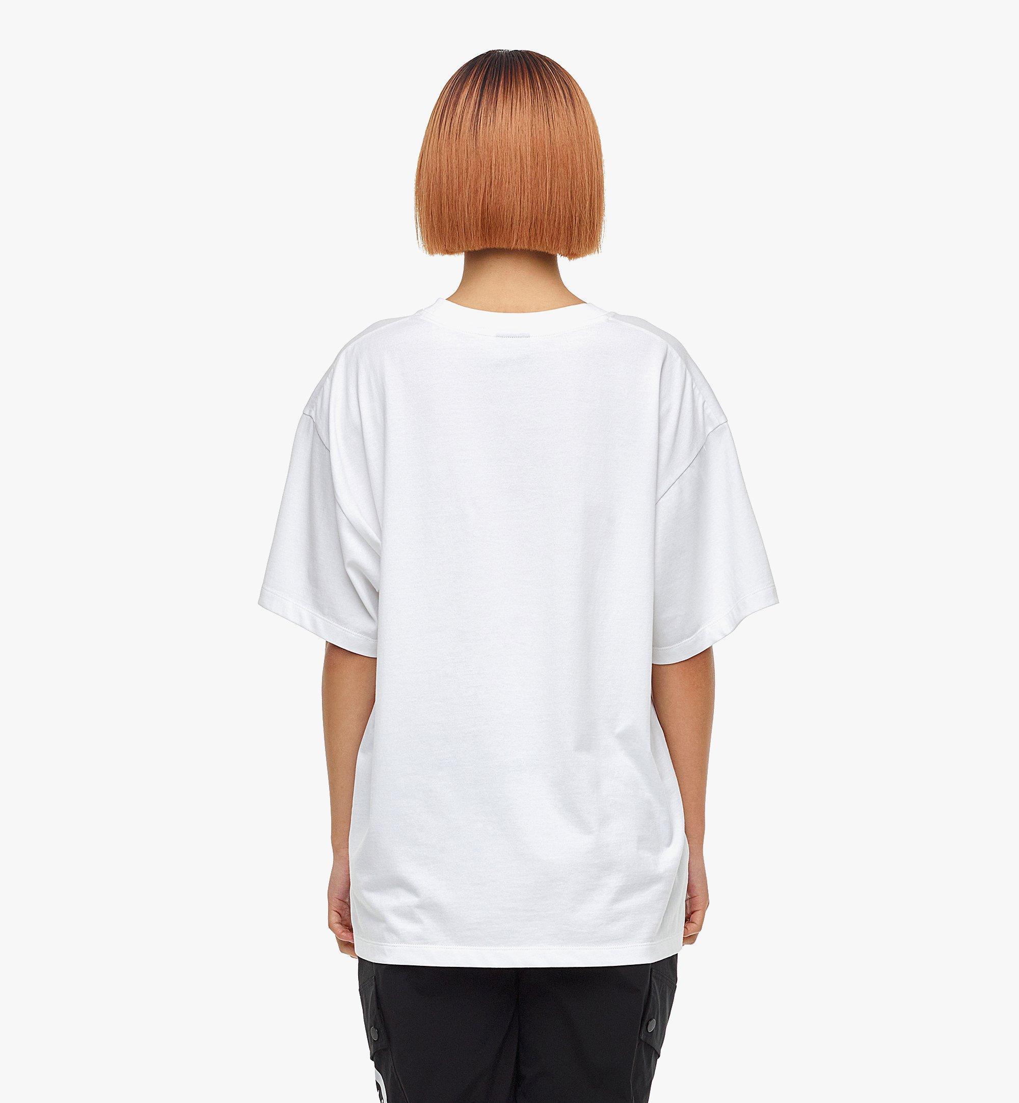 MCM MCM x SAMBYPEN T-Shirt mit gedrucktem Logo White MHTBASP02WD00M Noch mehr sehen 8