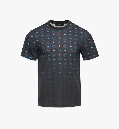 メンズ グラデーション ヴィセトスプリント Tシャツ