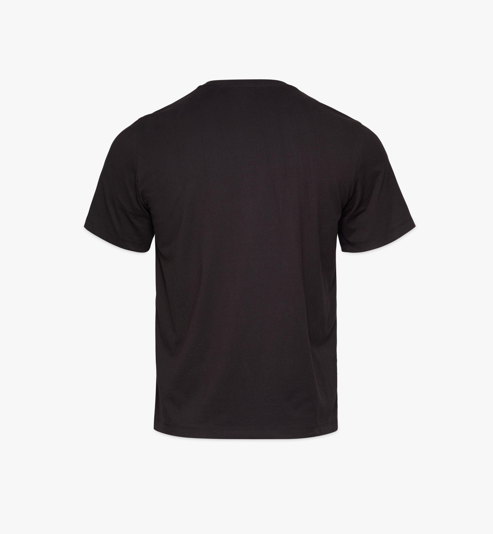 MCM T-shirt Geo Laurel pour homme Black MHTBSMM06BK00L Plus de photos 1
