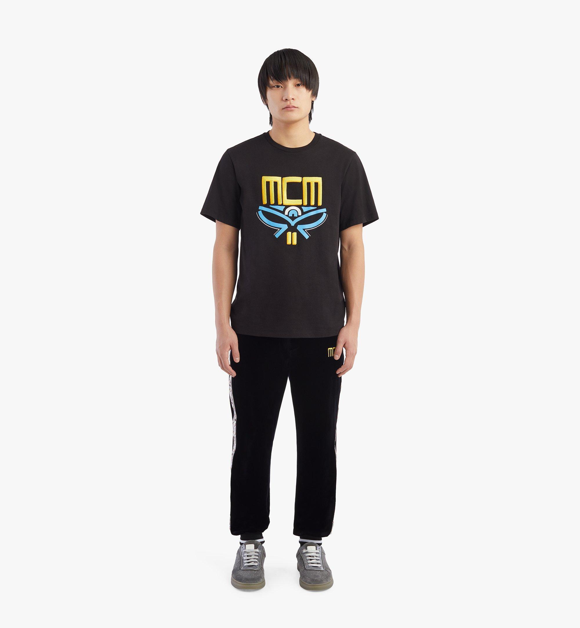 MCM T-shirt Geo Laurel pour homme Black MHTBSMM06BK00L Plus de photos 3
