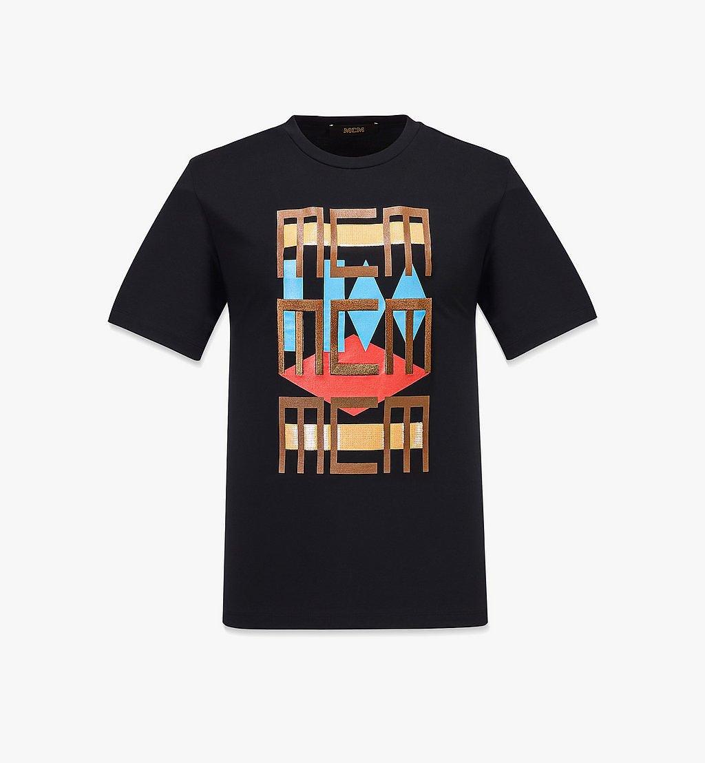 MCM Men's Geo Graffiti T-Shirt Black MHTBSMM08B20XL Alternate View 1