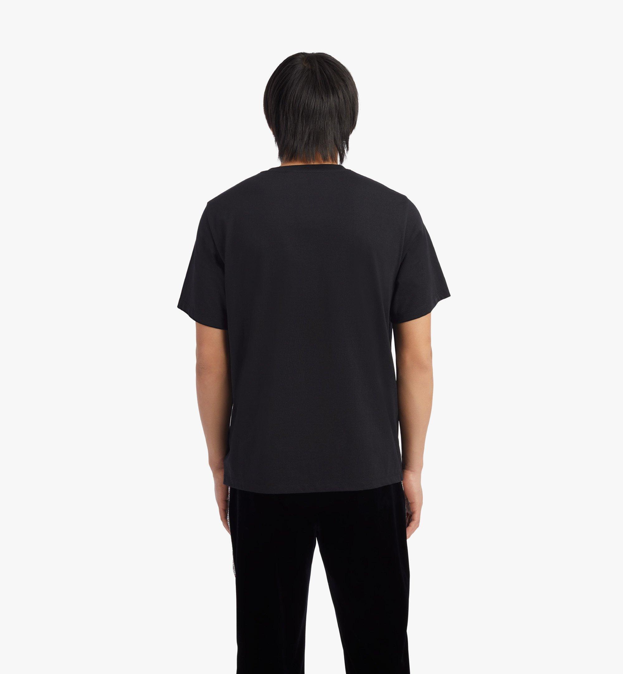 MCM Men's Geo Graffiti T-Shirt Black MHTBSMM08B22XL Alternate View 3
