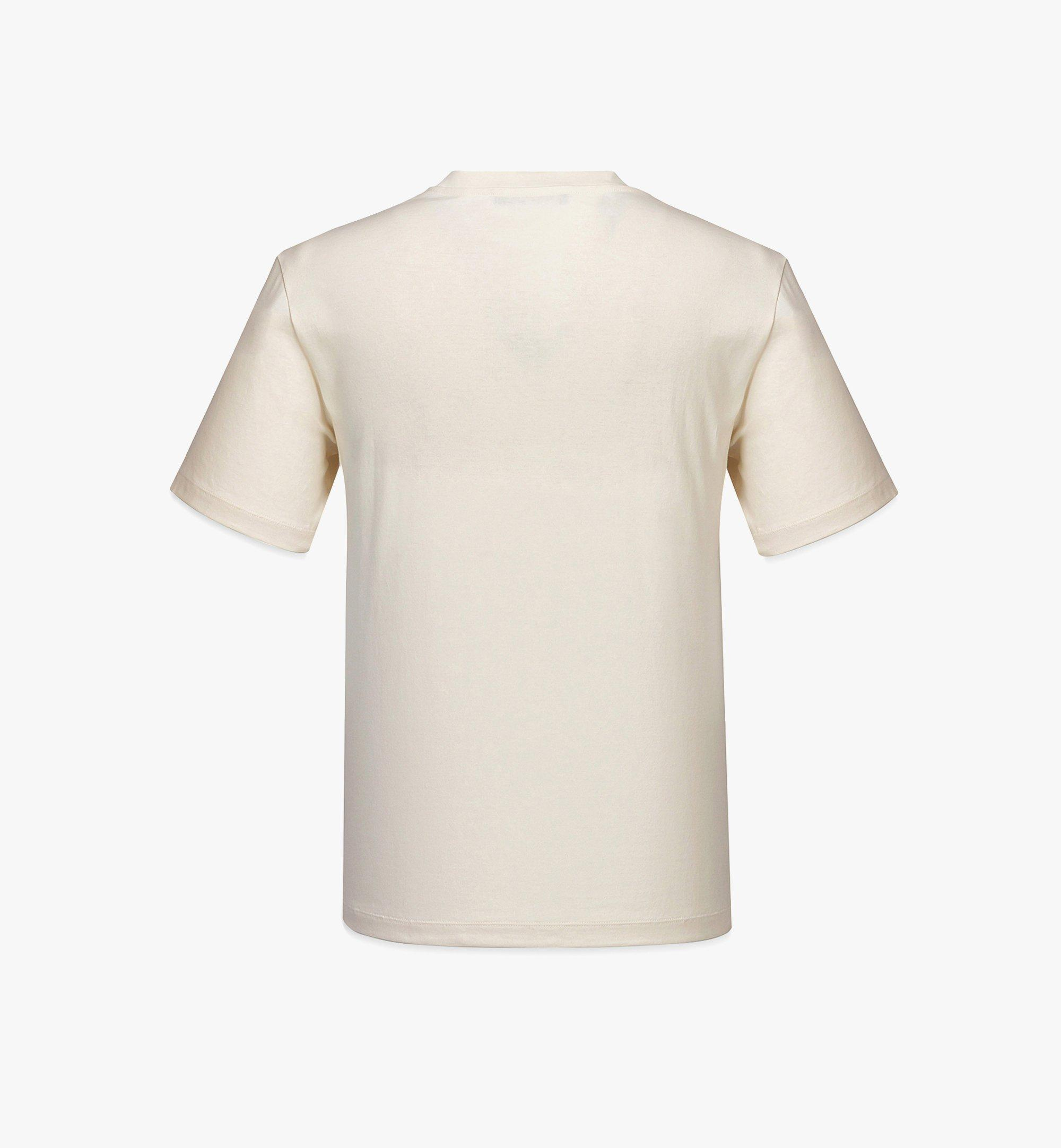 MCM 男士Geo涂鸦T恤 White MHTBSMM08IO00S 更多视角 1