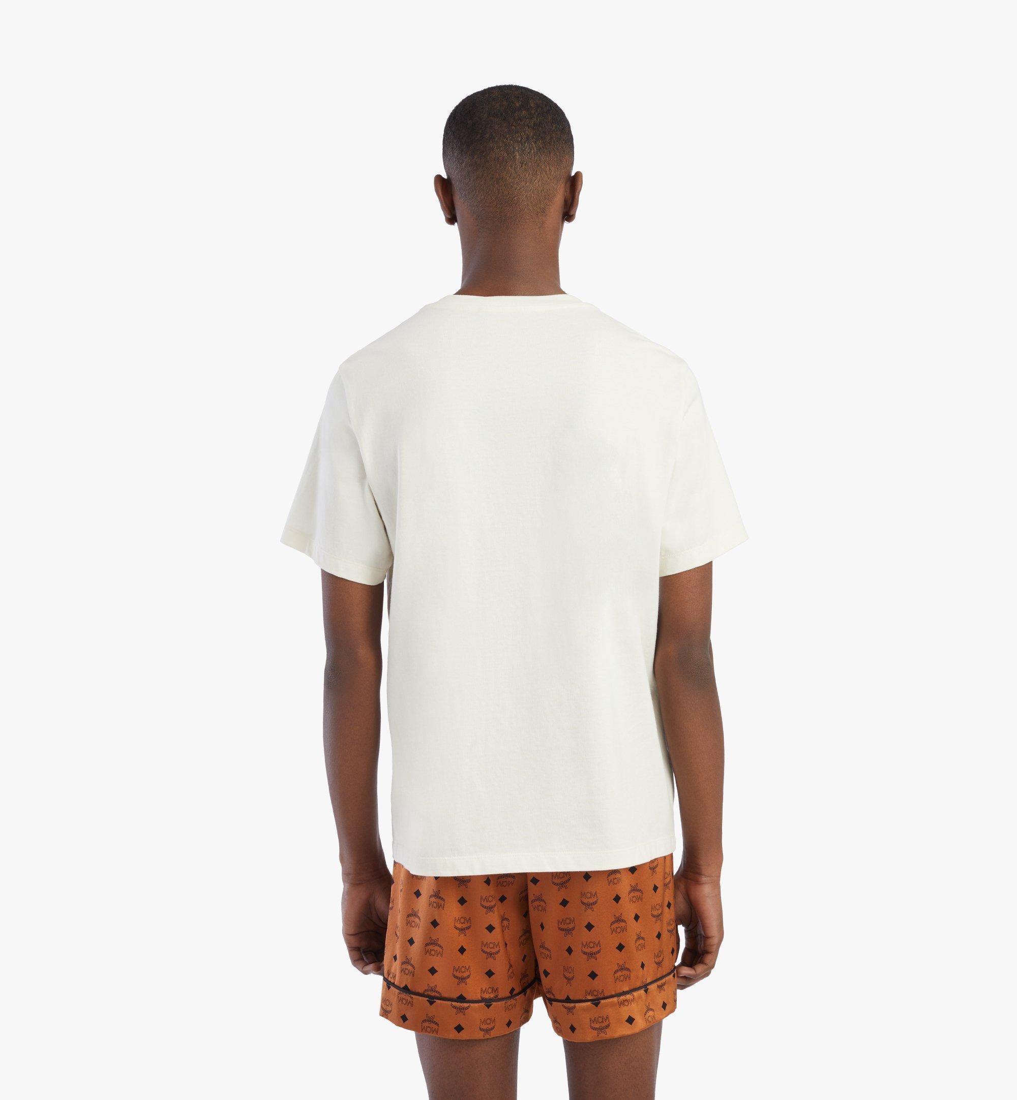MCM Men's Geo Graffiti T-Shirt White MHTBSMM08IO2XL Alternate View 3