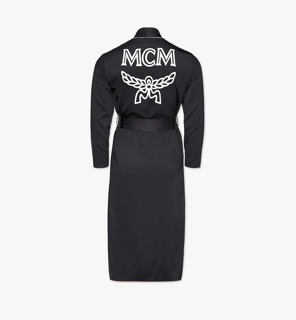 MCM Classic Logo Silk Reversible Robe Cognac MHXBSMM06CO00M Alternate View 5
