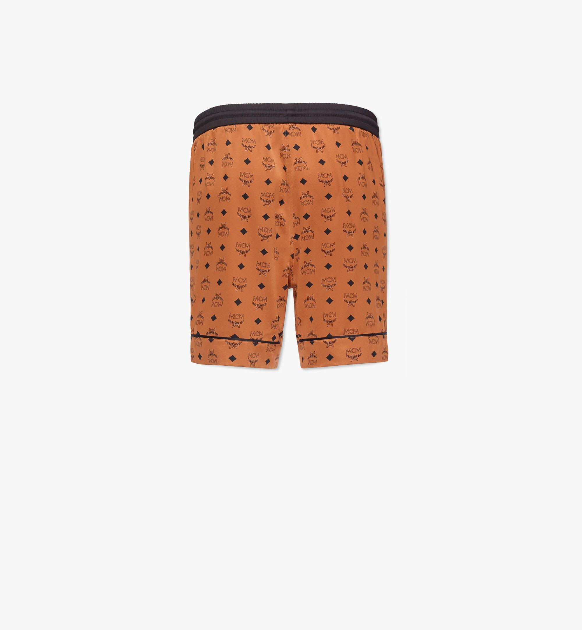 MCM Men's Silk Print Boxer Shorts  MHXCSMM03CO00L Alternate View 1