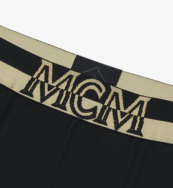 MCM Men's 1976 Long Boxer Briefs  MHYASBM01BK00S Alternate View 3