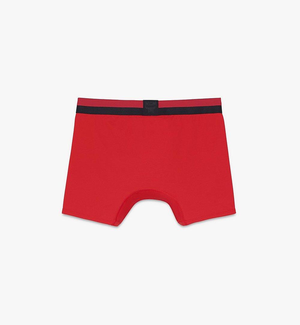 MCM 男士 1976 長款緊身四角褲 Red MHYASBM01RE00L 更多視圖 1