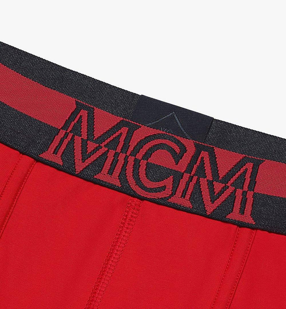 MCM 男士 1976 長款緊身四角褲 Red MHYASBM01RE00L 更多視圖 2