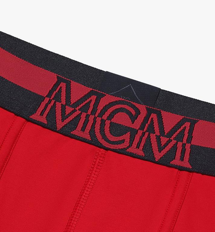 MCM Lange Boxershorts für Herren  MHYASBM01RE00L Alternate View 3
