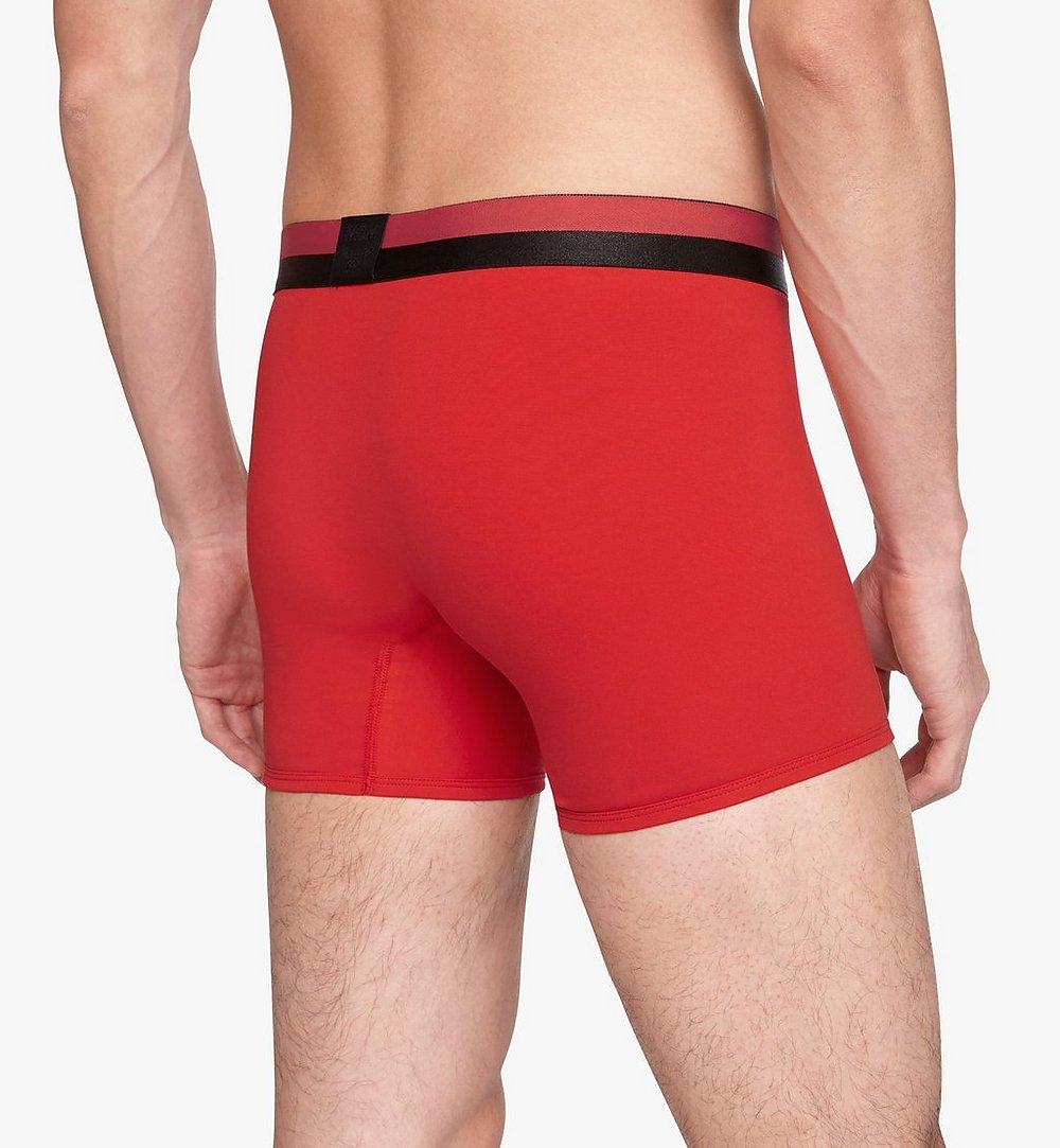 MCM 男士 1976 長款緊身四角褲 Red MHYASBM01RE00L 更多視圖 3