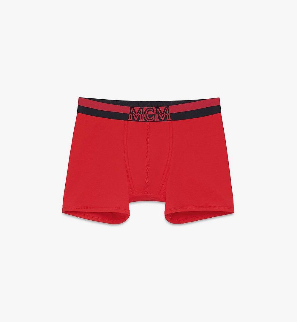 MCM Men's 1976 Long Boxer Briefs Red MHYASBM01RE0XL Alternate View 1
