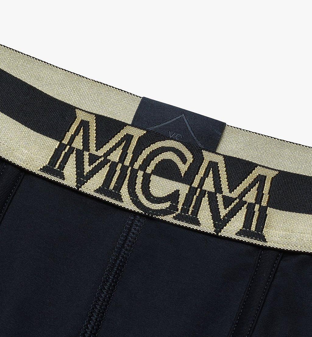 MCM Men's 1976 Short Boxer Briefs Black MHYASBM02BK0XS Alternate View 2