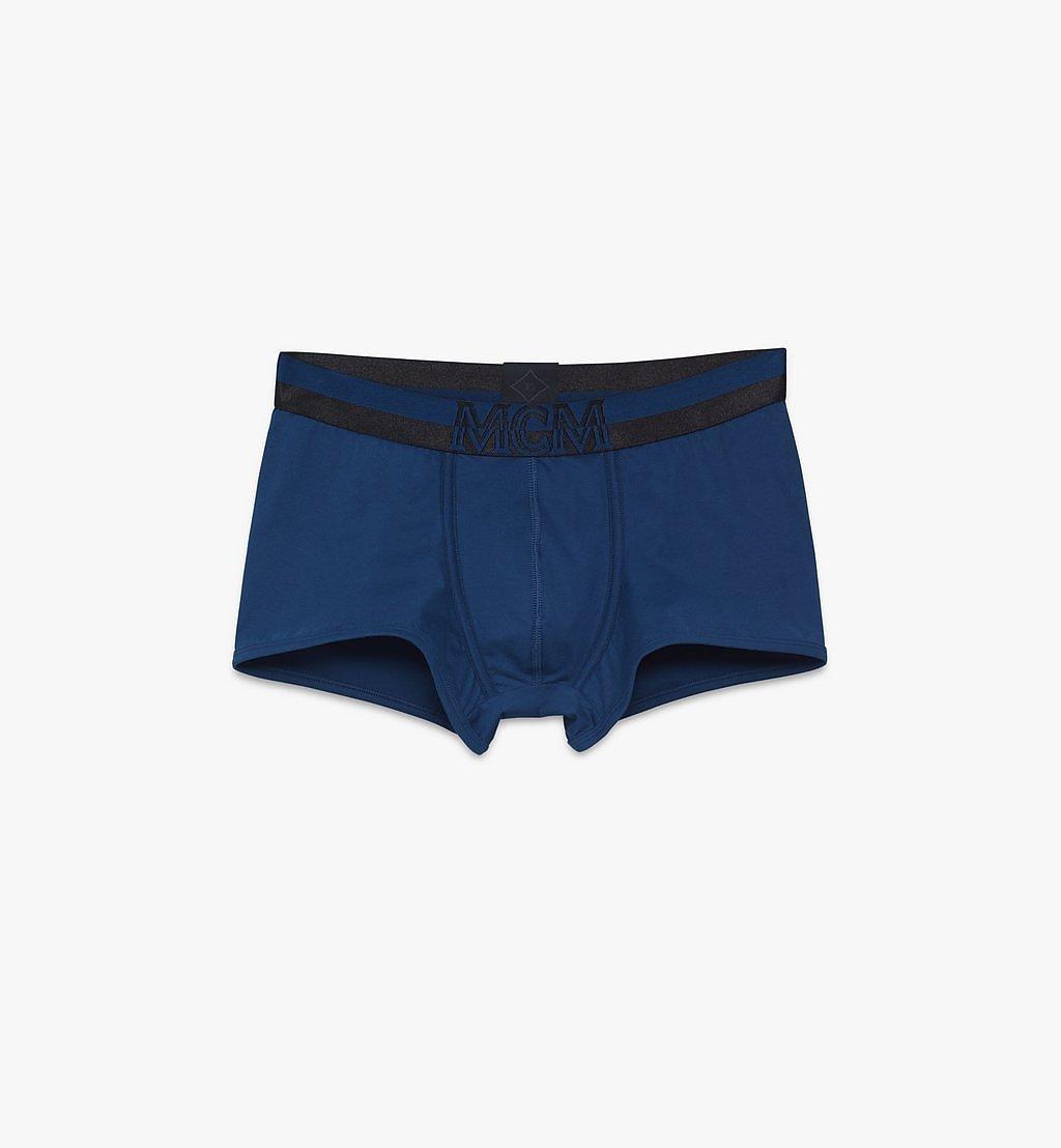 MCM 男士 1976 短款緊身四角褲 Blue MHYASBM02LU00L 更多視圖 1