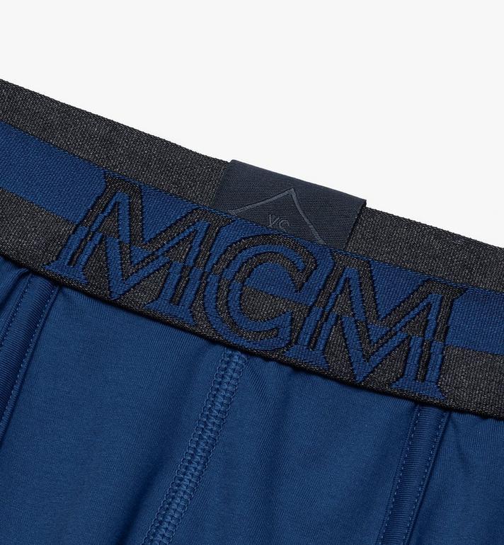 MCM 남성용 쇼트 복서 브리프 Blue MHYASBM02LU00L Alternate View 3