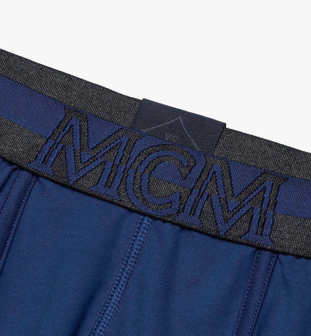 MCM Men's 1976 Short Boxer Briefs Blue MHYASBM02LU00L Alternate View 2