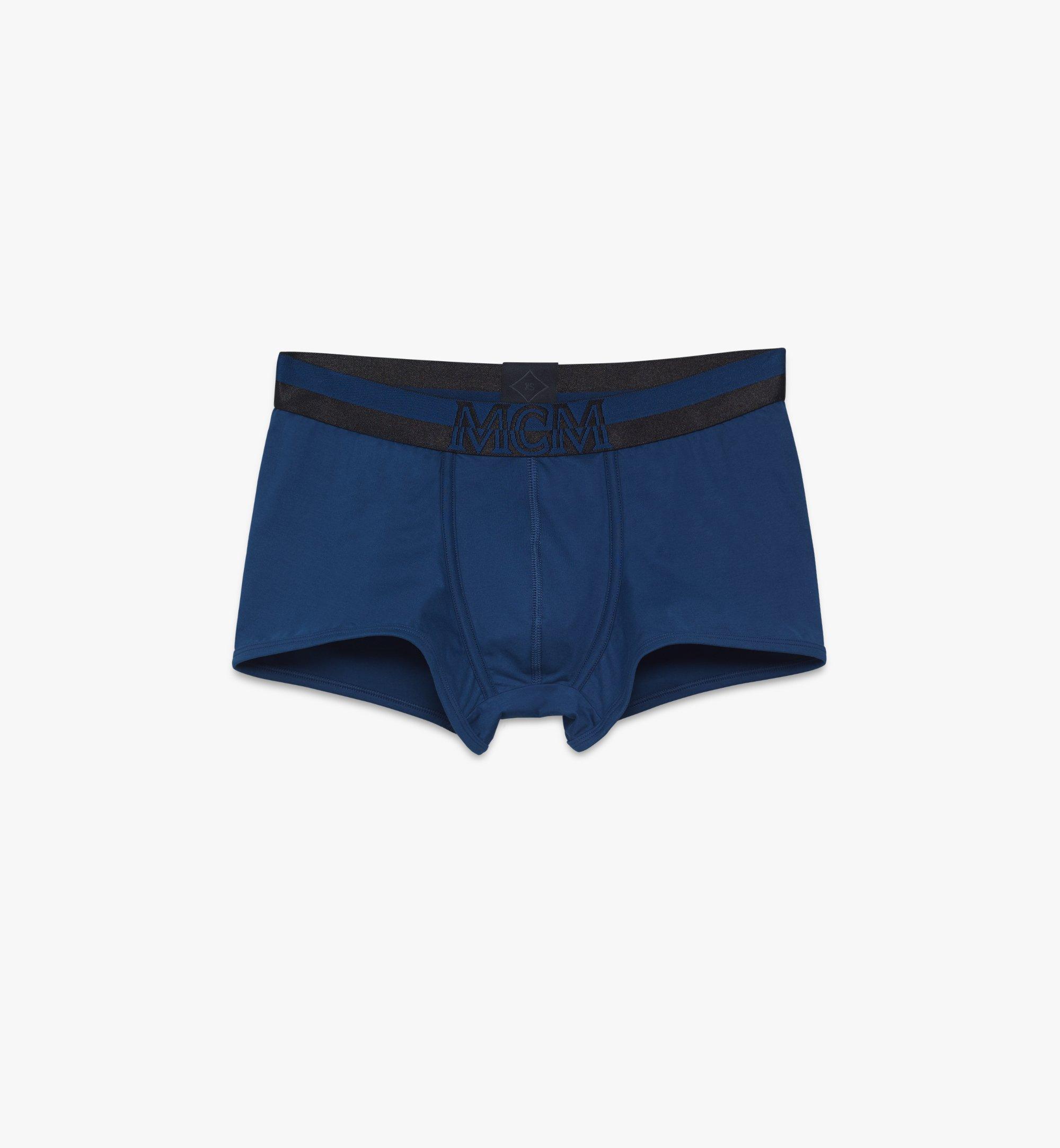 MCM 男士 1976 短款緊身四角褲 Blue MHYASBM02LU00M 更多視圖 1