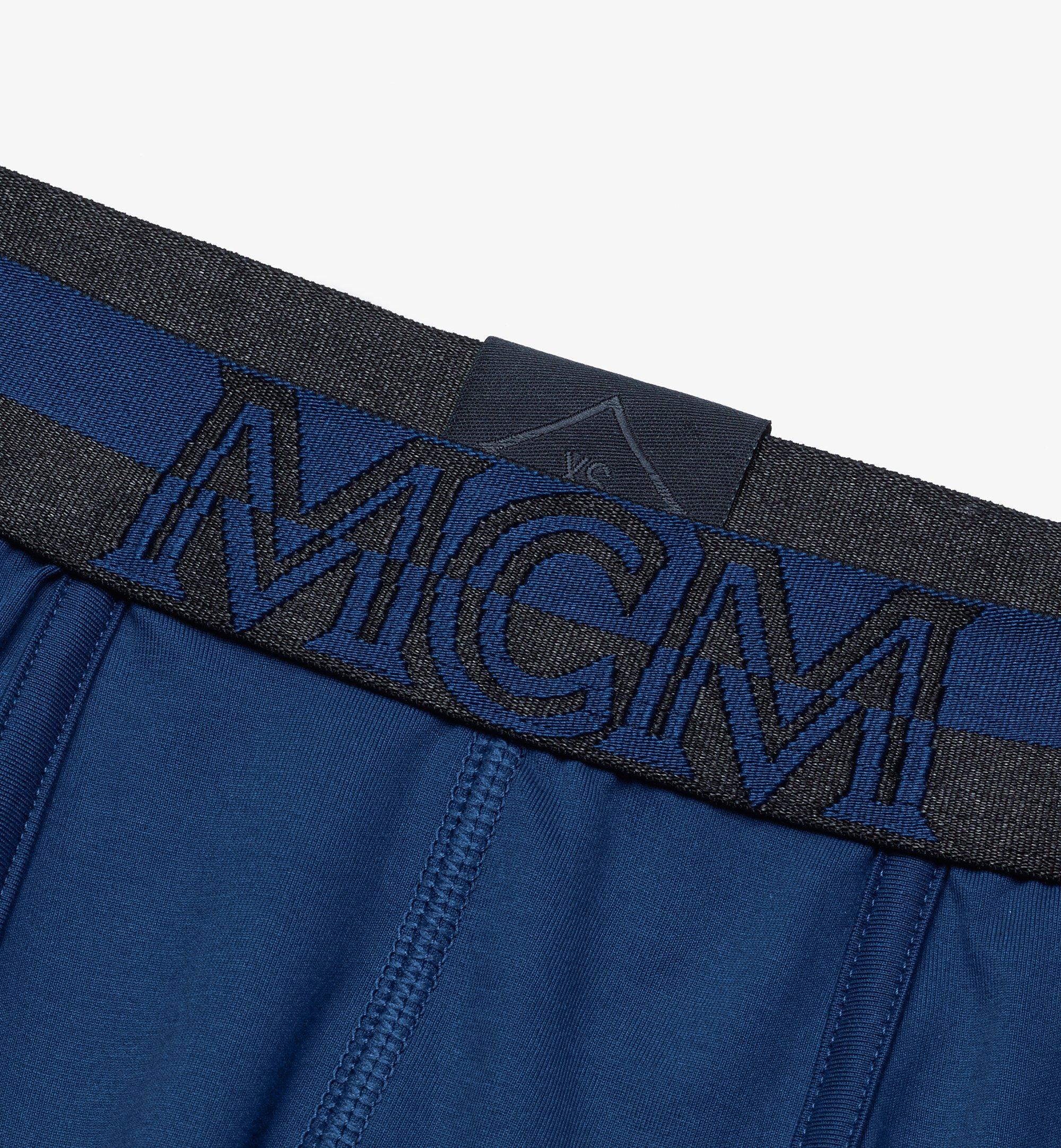 MCM 男士 1976 短款緊身四角褲 Blue MHYASBM02LU00M 更多視圖 2