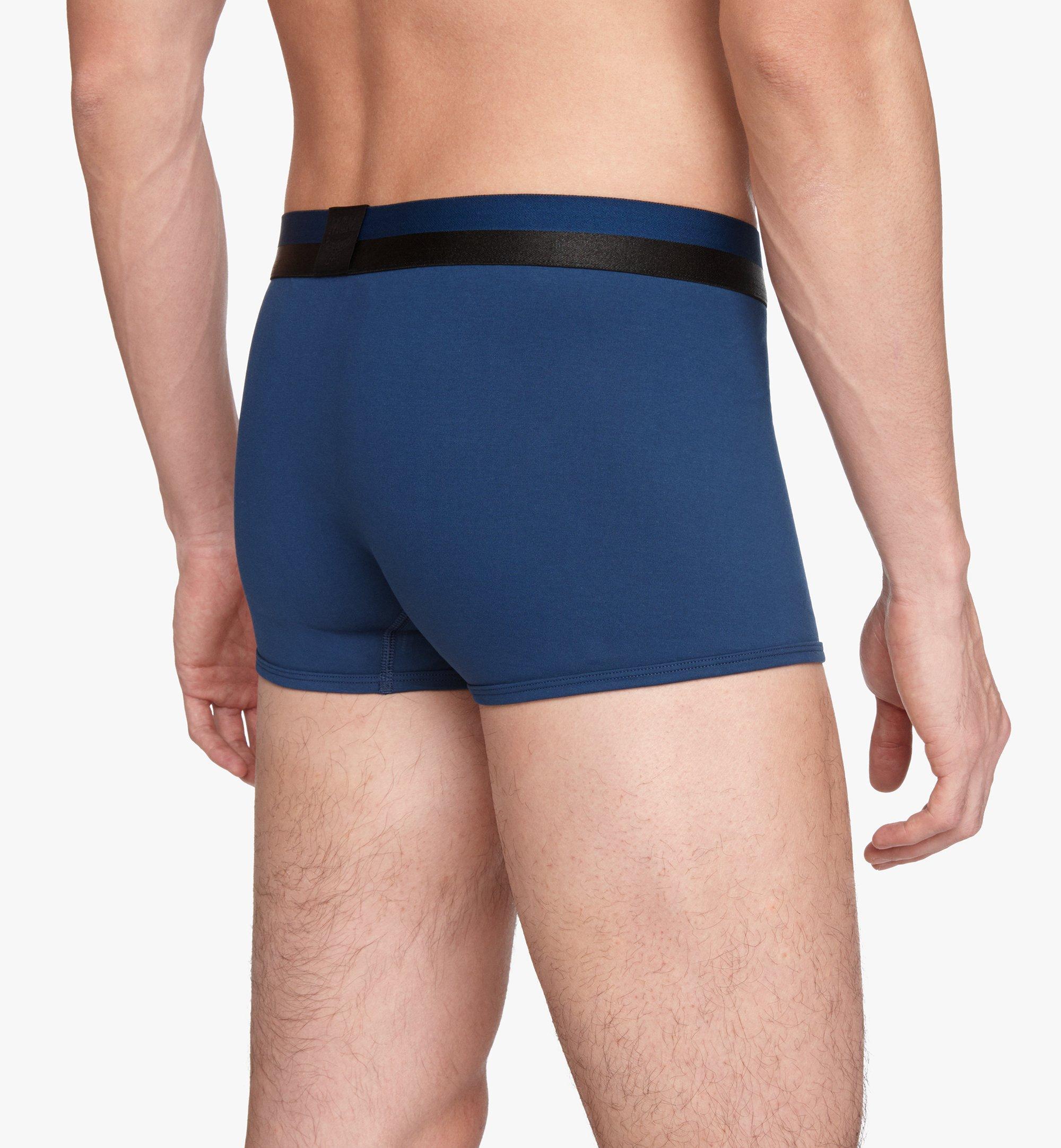 MCM 男士 1976 短款緊身四角褲 Blue MHYASBM02LU00M 更多視圖 3