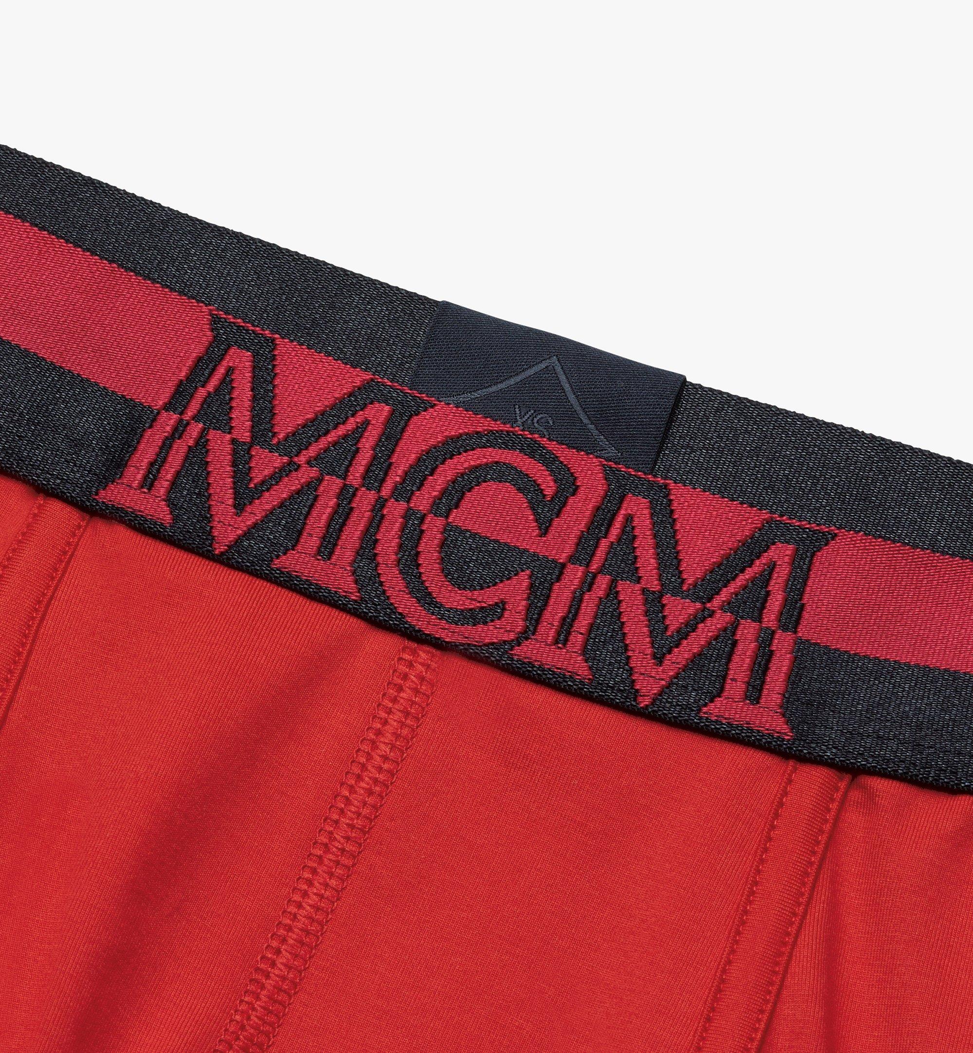 MCM 男士 1976 短款緊身四角褲 Red MHYASBM02RE00M 更多視圖 2