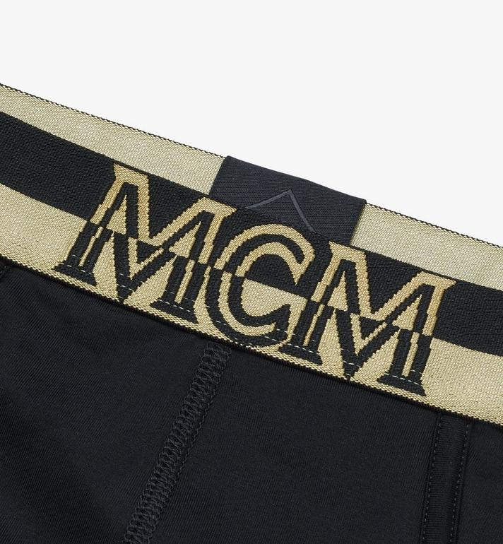 MCM Slip mit Logo für Herren  MHYASBM03BK00L Alternate View 3