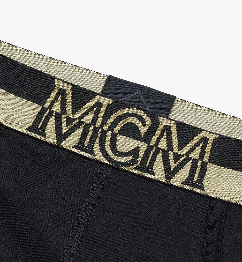 MCM Men's 1976 Logo Briefs Black MHYASBM03BK00M Alternate View 2