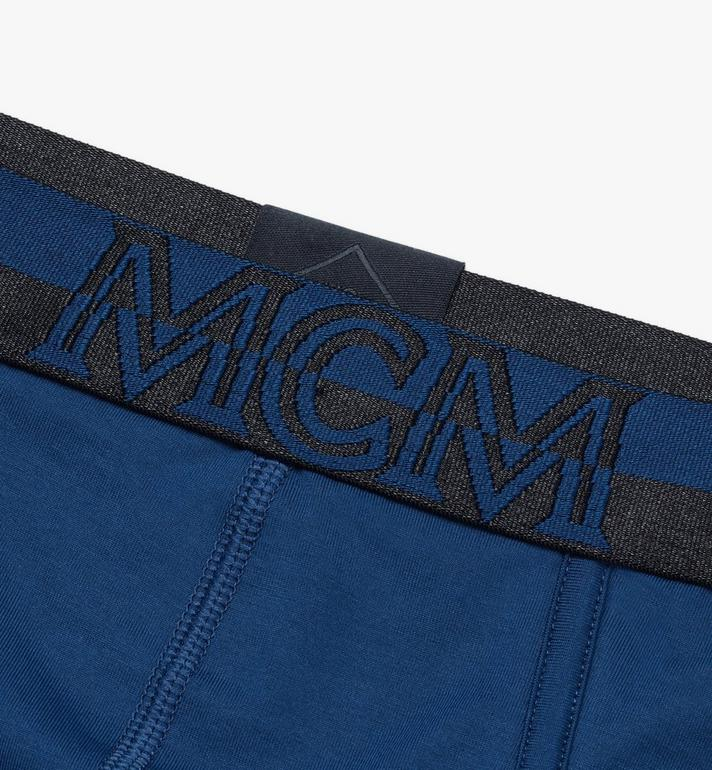 MCM 남성용 로고 브리프 Blue MHYASBM03LU00L Alternate View 3