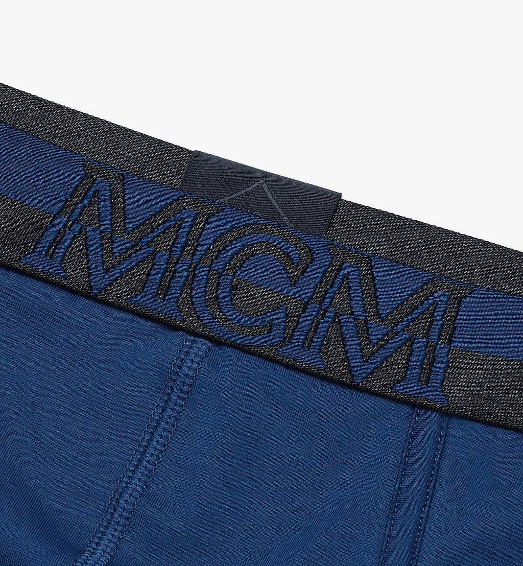 MCM Men's 1976 Logo Briefs Blue MHYASBM03LU00L Alternate View 2