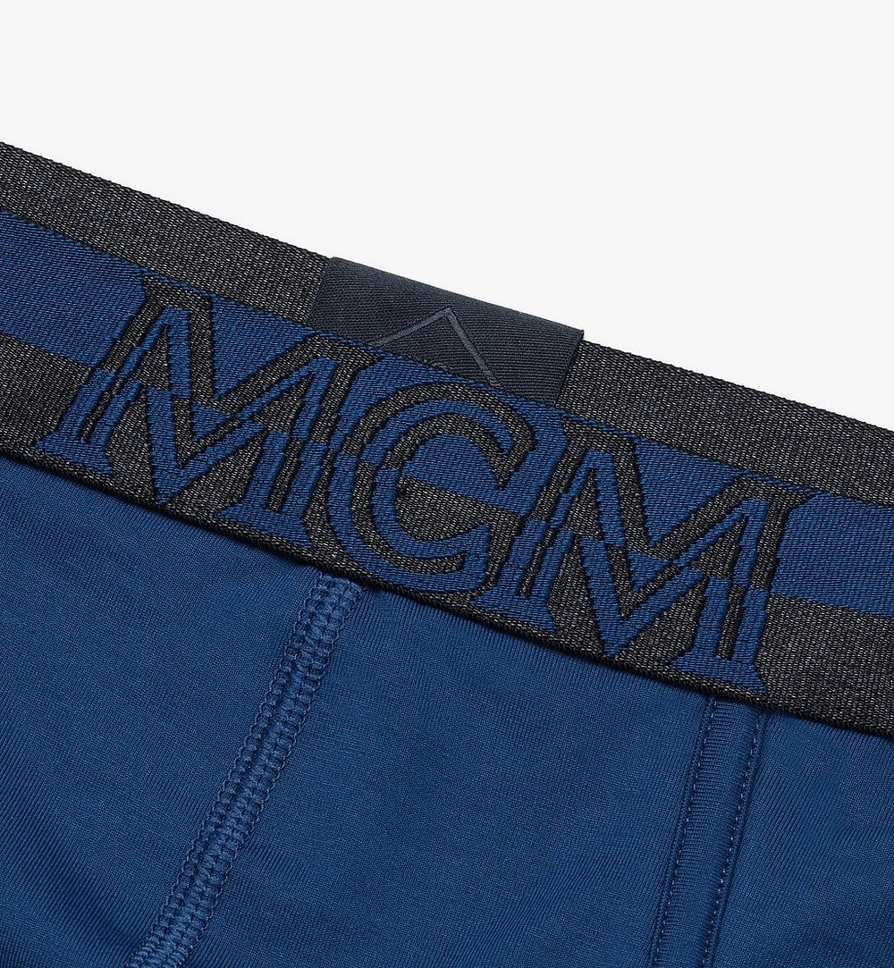 MCM Men's 1976 Logo Briefs Blue MHYASBM03LU00M Alternate View 2