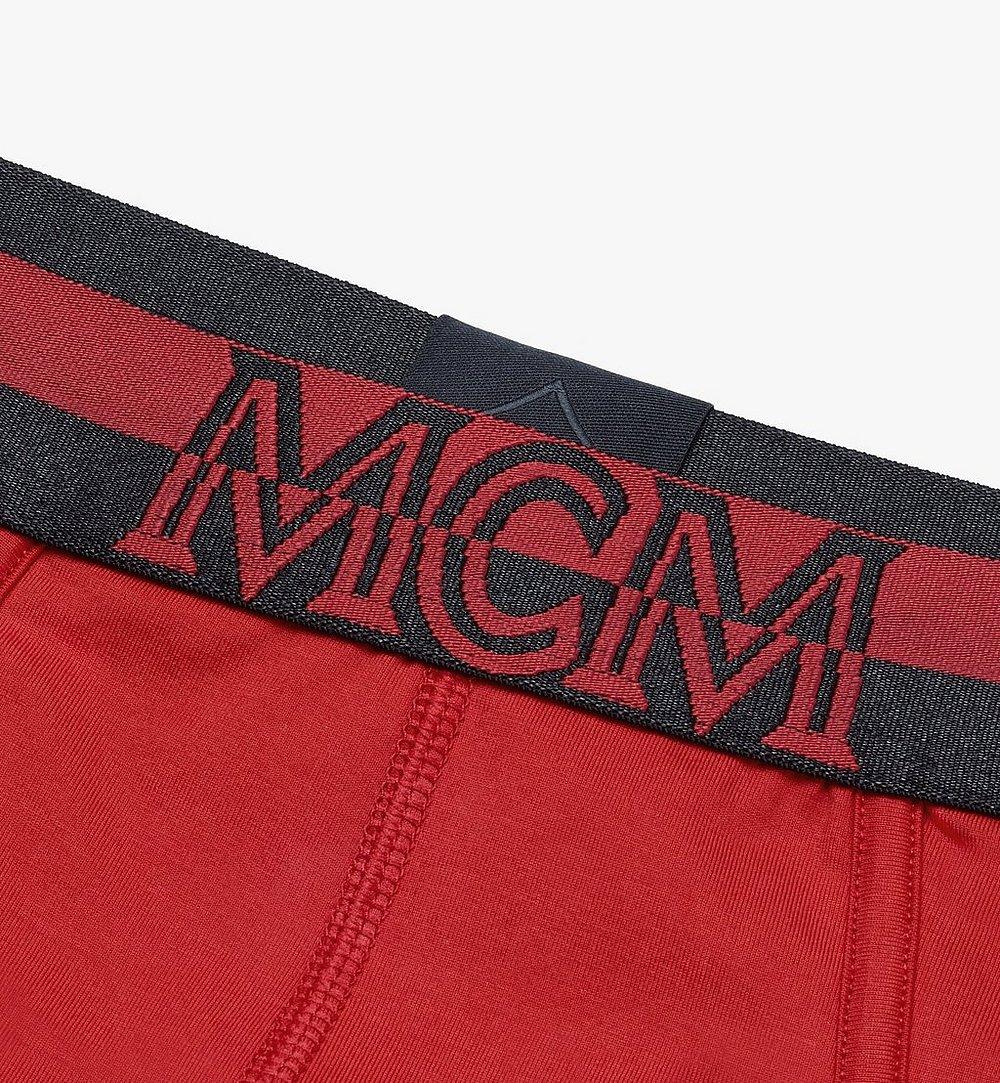 MCM Men's 1976 Logo Briefs Red MHYASBM03RE00L Alternate View 2