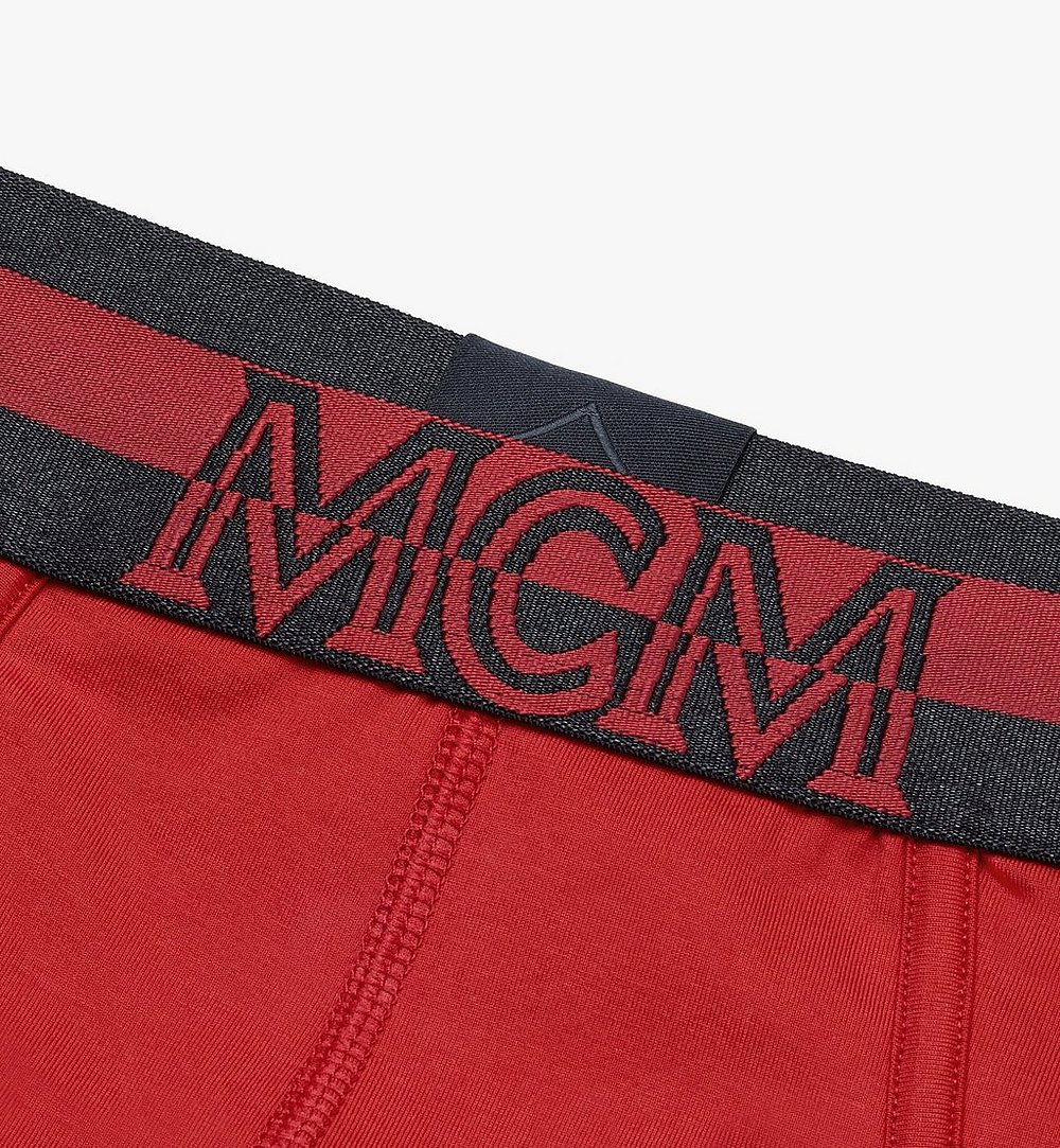 MCM 남성용 로고 브리프 Red MHYASBM03RE0XS 다른 각도 보기 2