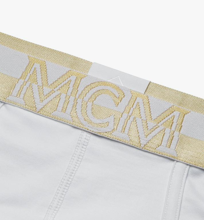 MCM Men's 1976 Logo Briefs White MHYASBM03WT00L Alternate View 3