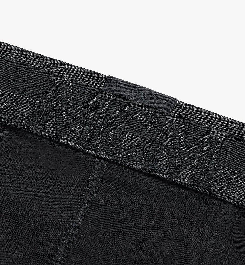 MCM 男士 1976 經典四角褲 Black MHYASBM04BK00L 更多視圖 2