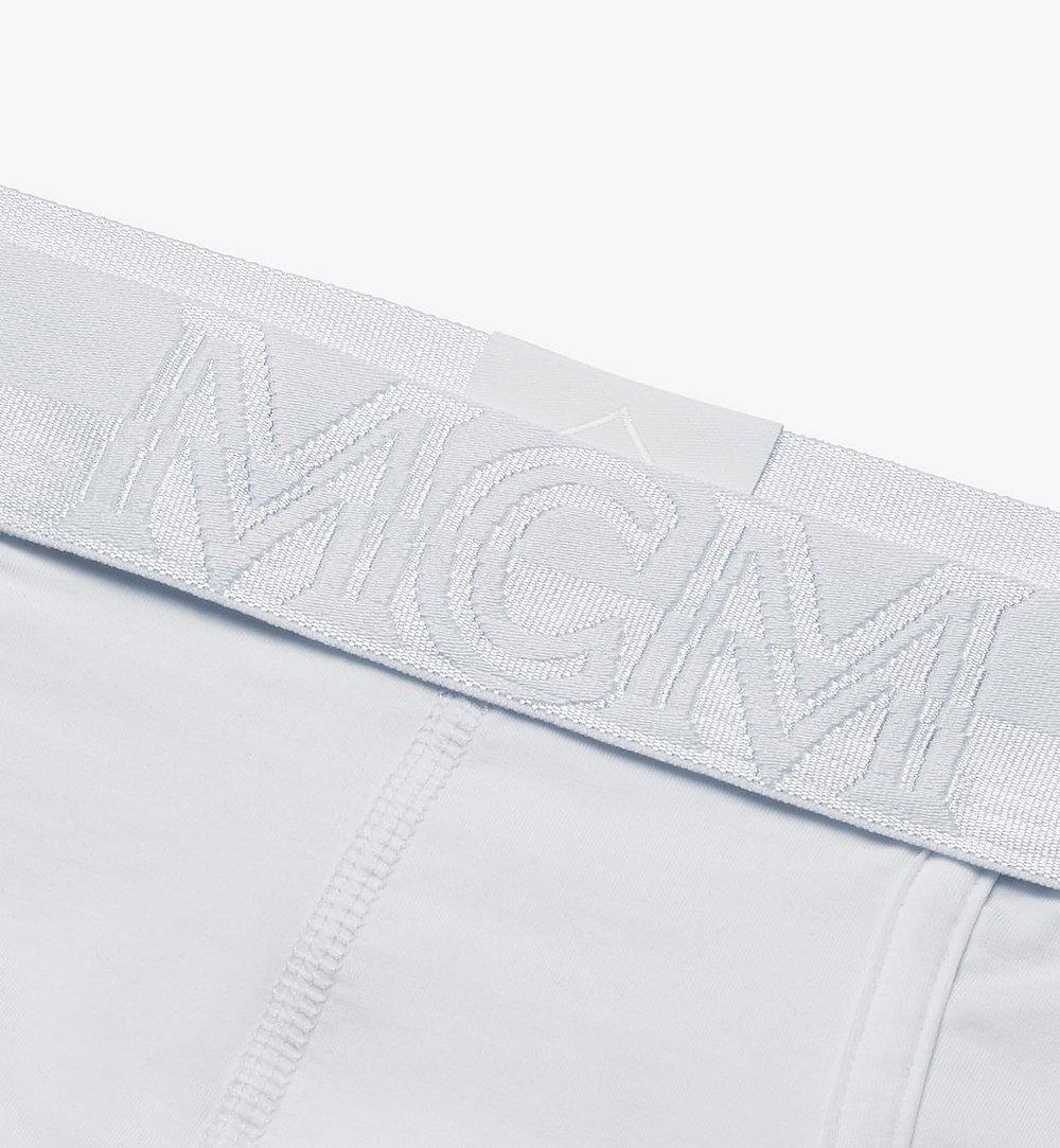 MCM 남성용 클래식 브리프 White MHYASBM04WT00M 다른 각도 보기 2