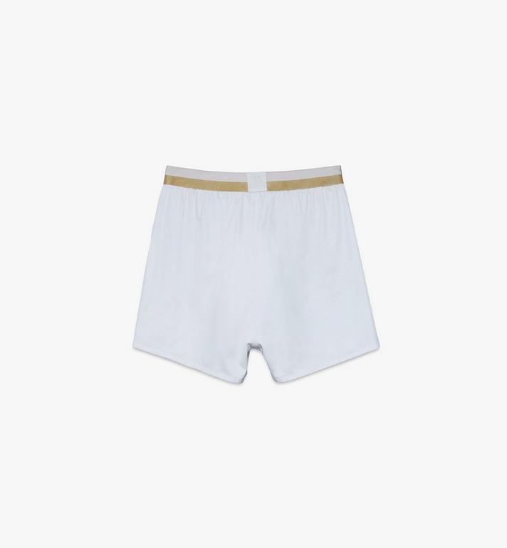 MCM Men's 1976 Woven Boxer Shorts  MHYASBM06WT00L Alternate View 2