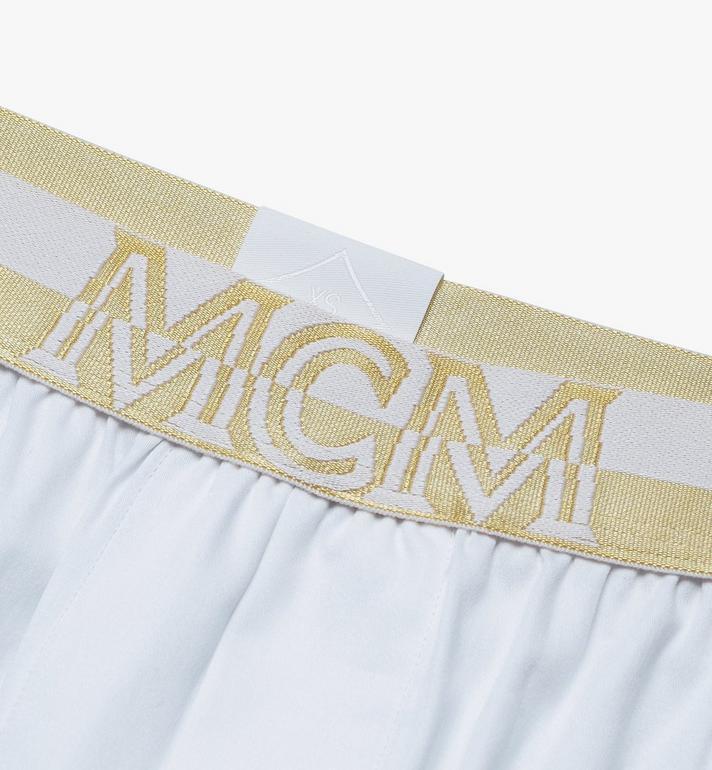 MCM Men's 1976 Woven Boxer Shorts  MHYASBM06WT00L Alternate View 3
