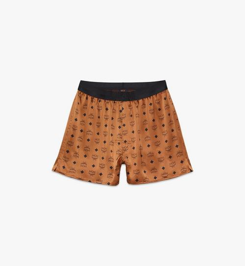 Men's Silk Print Boxer Shorts