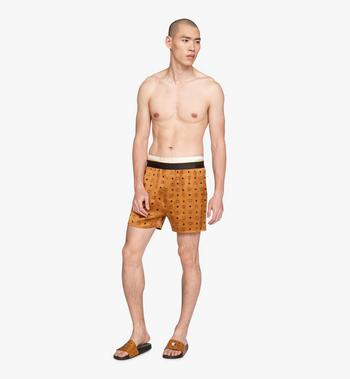 MCM Men's Silk Print Boxer Shorts  MHYASBM07CO00L Alternate View 3