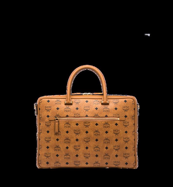 MCM Ottomar Briefcase in Visetos MMF8SOT44CO001 AlternateView