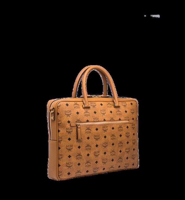 MCM Ottomar Briefcase in Visetos MMF8SOT44CO001 AlternateView2