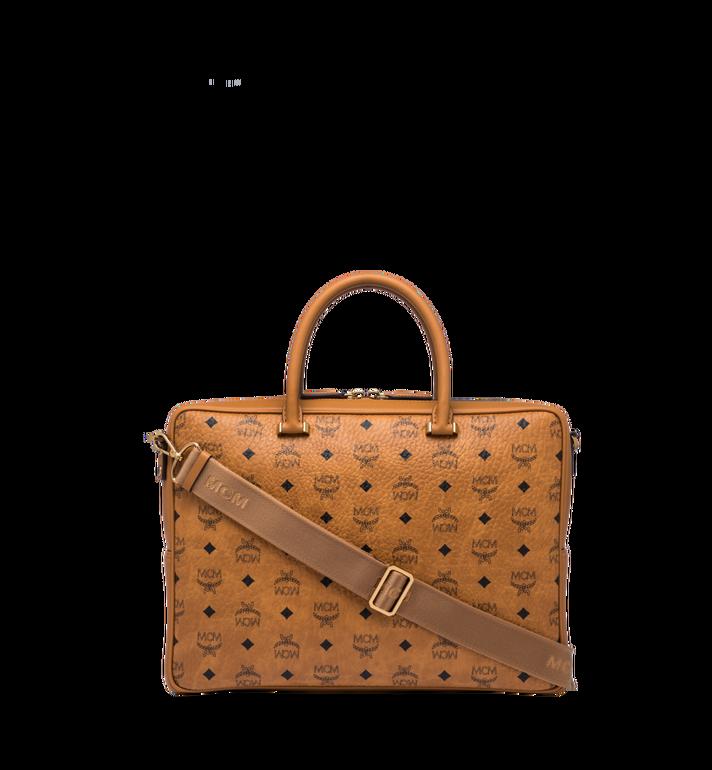 MCM Ottomar Briefcase in Visetos MMF8SOT44CO001 AlternateView4