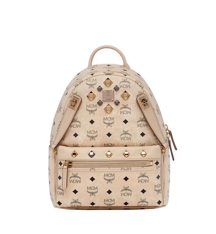 MCM Dual Stark Backpack in Visetos MMK6AVE80IG001 AlternateView