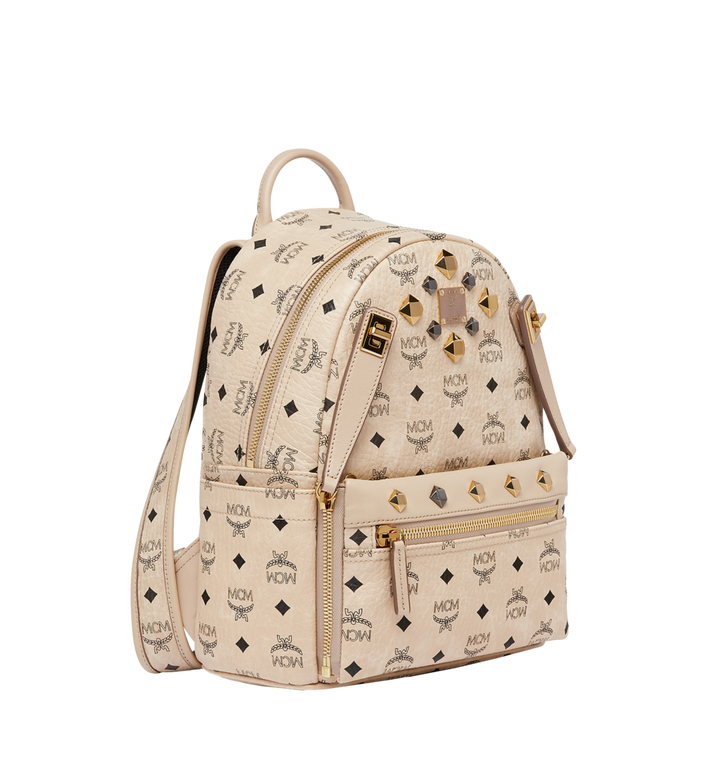 MCM Dual Stark Backpack in Visetos MMK6AVE80IG001 AlternateView2